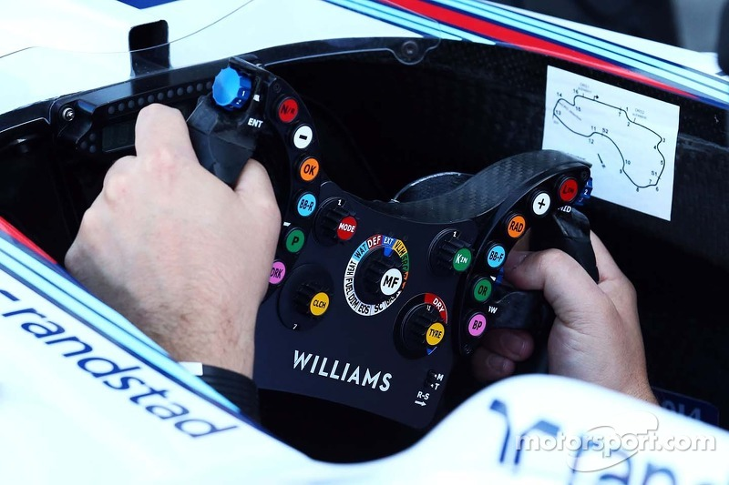 Williams FW36 volante