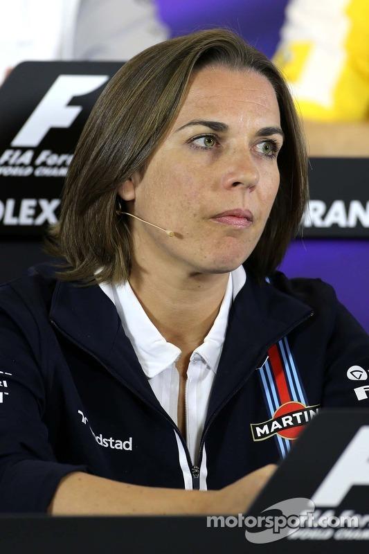 Claire Williams, Williams F1 Team