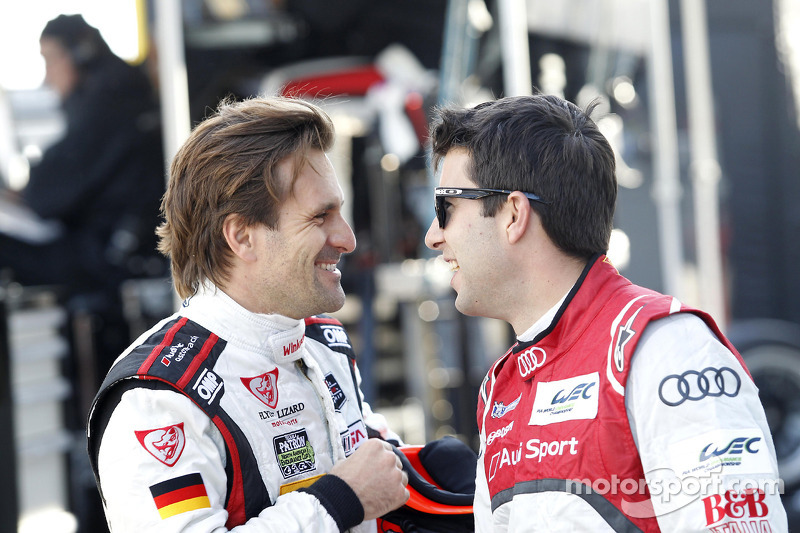 Markus Winkelhock and Mike Rockenfeller