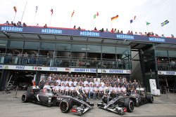 Sauber F1 Team, Adrian Sutil, Sauber F1 Team y Esteban Gutiérrez, Sauber F1 Team