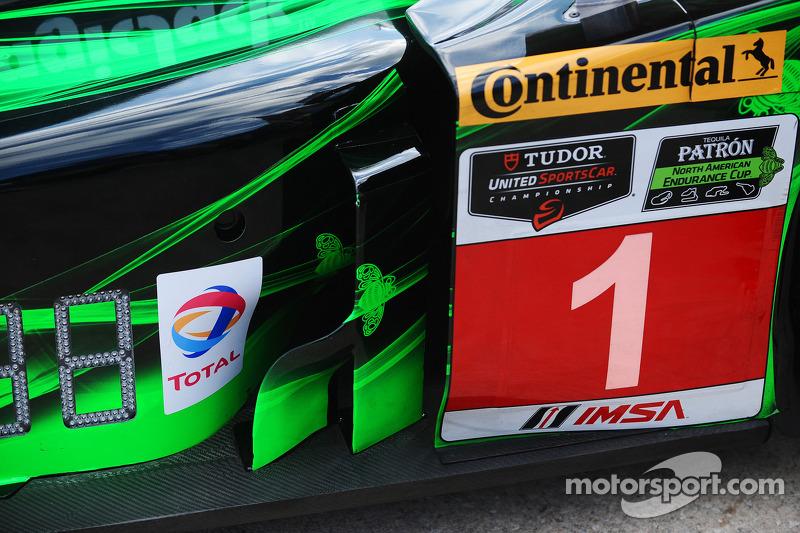 #1 Extreme Speed Motorsports HPD ARX-03b 本田 细节