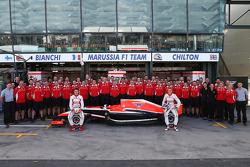 (Da sinistra a destra): Jules Bianchi (FRA)