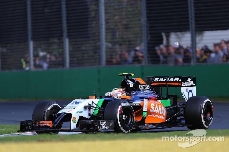 Sergio Pérez, Sahara Force India  16