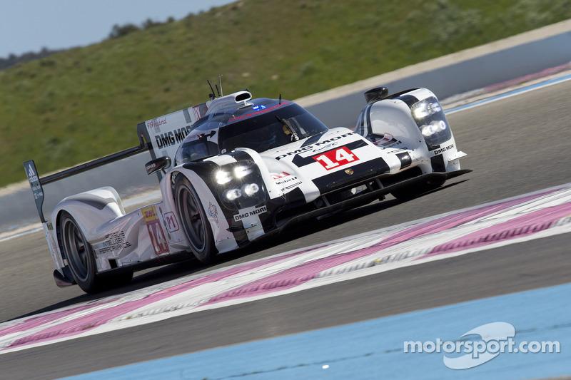 Porsche Paul Ricard test