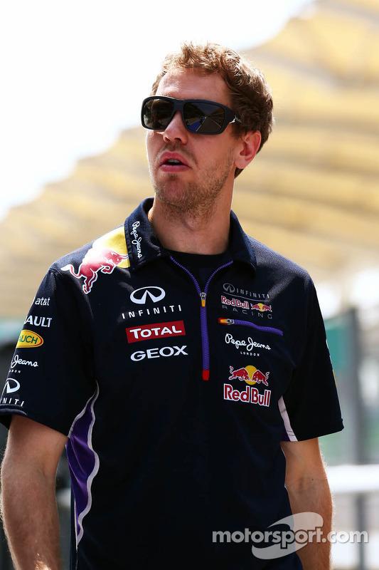 Streckenbegehung: Sebastian Vettel, Red Bull Racing