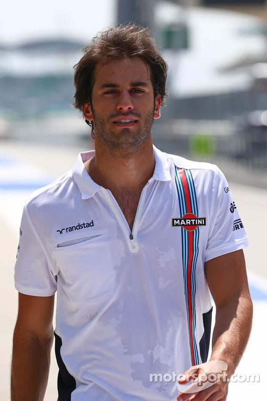Streckenbegehung: Felipe Nasr, Williams;Testfahrer