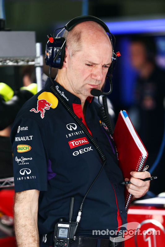 Adrian Newey, Red Bull Racing, Technischer Direktor