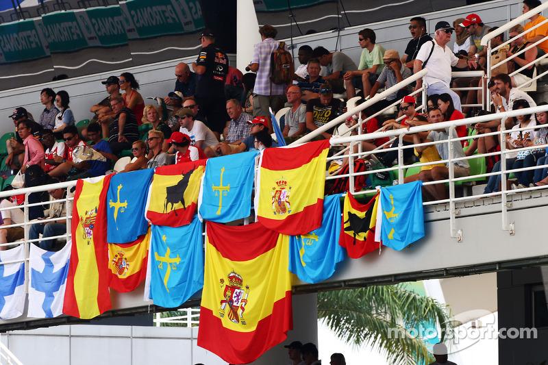 Bandiere per Fernando Alonso, Ferrari