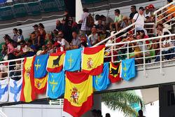 Flags for Fernando Alonso, Ferrari