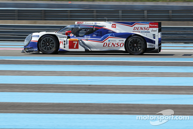 #07 Alexander Wurz, Nicolas Lapierre, Kazuki Nakajima, Toyota Racing, Toyota TS040, Hybrid