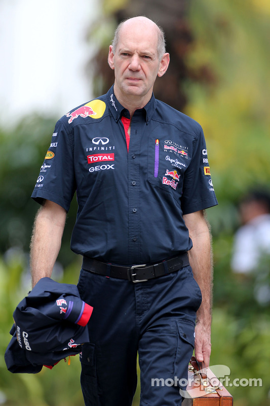 Adrian Newey, Red Bull Racing, Technischer Direktor