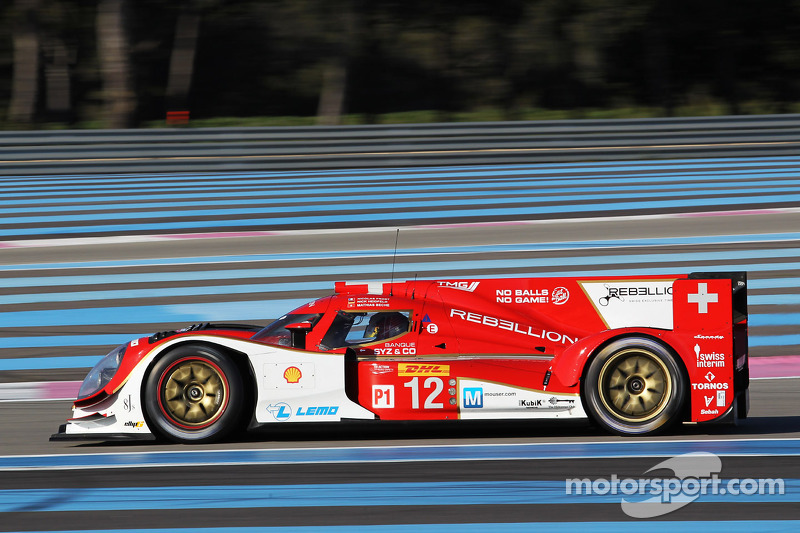 #12 Rebellion Racing Lola B12/60 Coupe - Toyota: Nick Heidfeld, Mathias Beche, Nicolas Prost