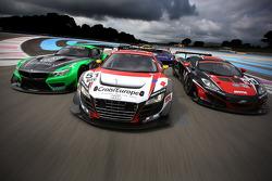 #51 塞巴斯蒂安·勒布 Racing 奥迪 R8 LMS ultra: 亨利·阿西, 迈克·帕里西, Anthony Beltoise, Rol和 Berville