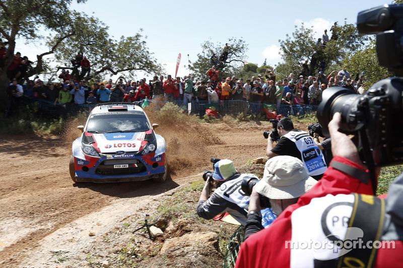 Роберт Кубіца та Мацей Жчепаніак, Ford Fiesta WRC