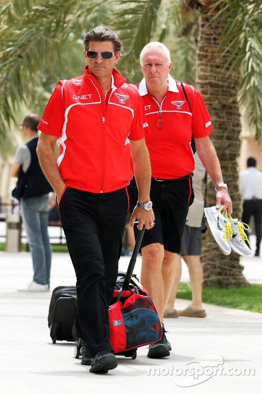 Graeme Lowdon, Marussia F1 Team, Geschäftsführer