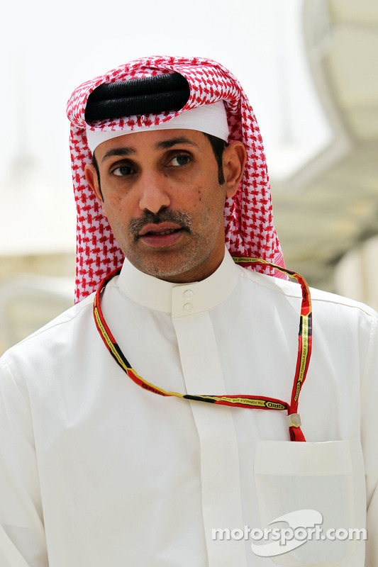 Sheikh Salman bin Isa Al-Khalifa, AD del Bahrain International Circuit