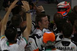 3rd place Sergio Perez, Sahara Force India F1