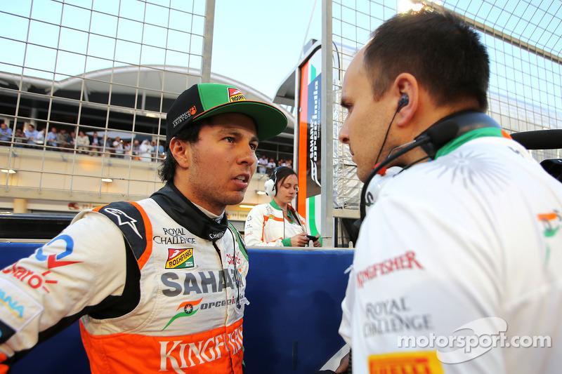 Sergio Perez, Sahara Force India 06