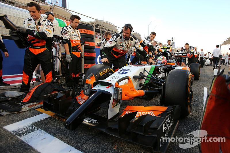 Sergio Perez, Sahara Force India F1