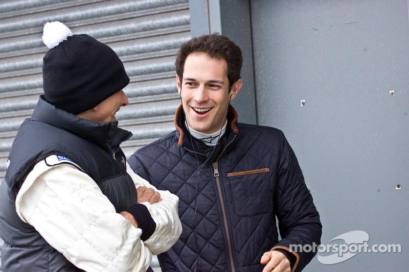 Damon Hill ve Bruno Senna