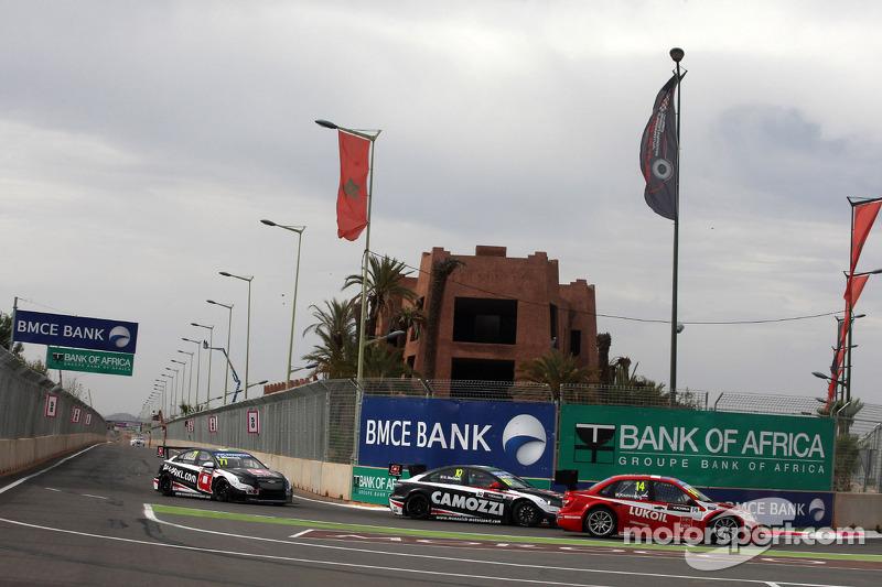 Gianni Morbidelli, Chevrolet Cruze RML TC1, ALL-INKL_COM Munnich Motorsport e Mikhail Kozlovskiy, LADA Granta 1.6T, LADA Sport Lukoil