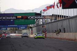 Terzo posto Hugo Valente, Chevrolet RML Cruze TC1, Campos Racing