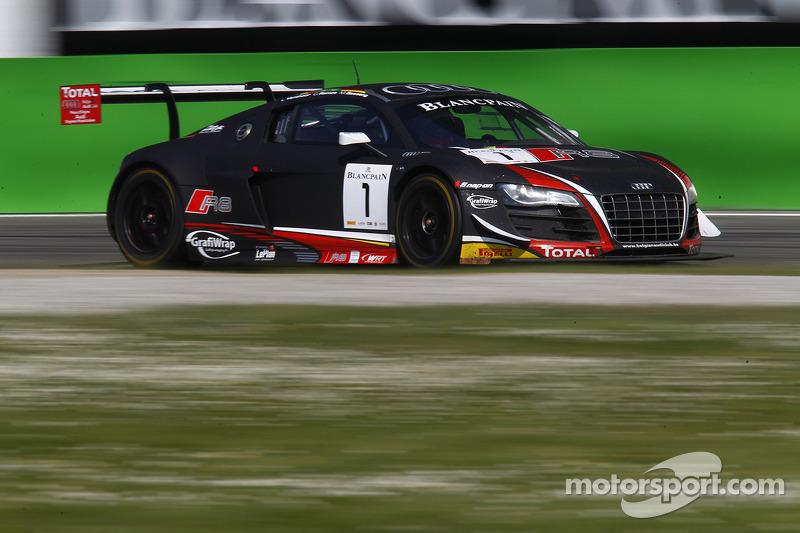 #1 Belgian Audi Club Team WRT Audi R8 LMS Ultra: Cesar Ramos, Marc Basseng, Laurens Vanthoor
