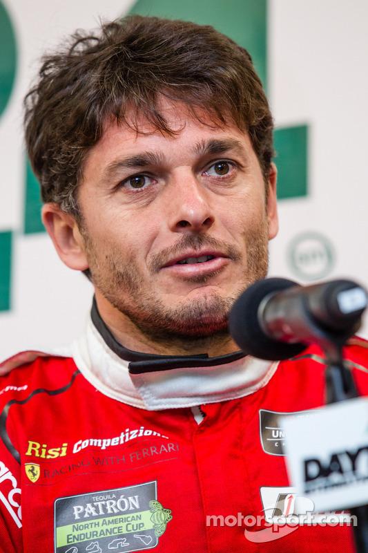 Ferrari North America press conference: Giancarlo Fisichella