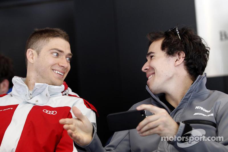 Edoardo Mortara, Audi Sport Takımı Abt ve Robert Wickens, Mercedes AMG DTM-Takımı HWA