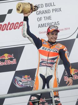 Marc Márquez ganador de la carrera