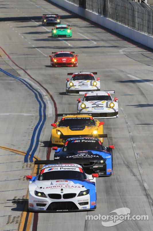 Acción durante la carrera