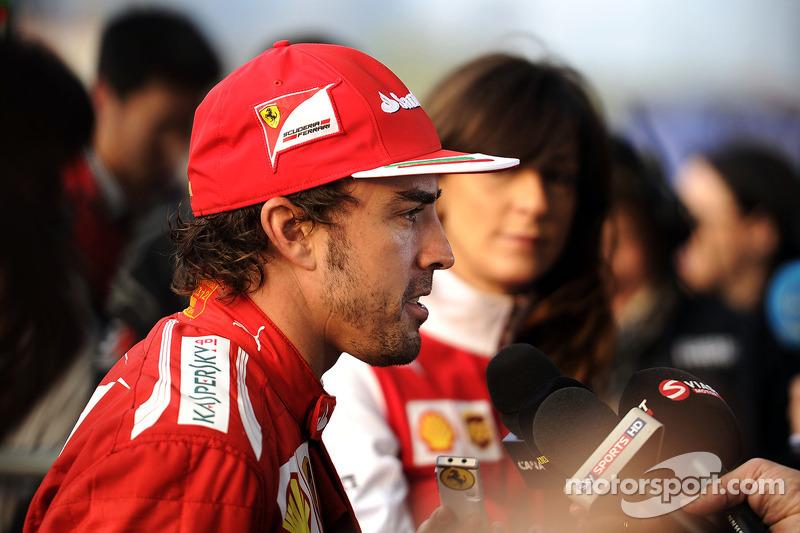 Fernando Alonso, Ferrari ve medya