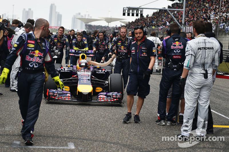 Daniel Ricciardo, Red Bull Racing RB10 gridde