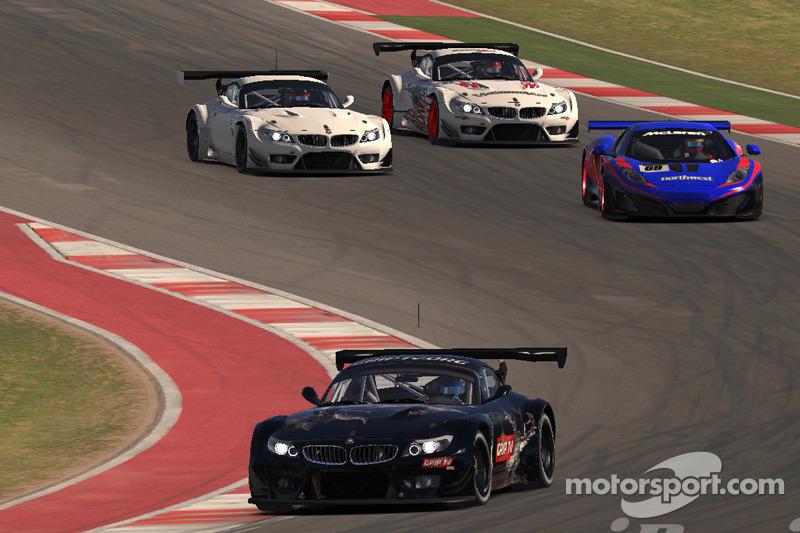 iRacing's BMW Z4 GT3 sul Circuito delle Americhe