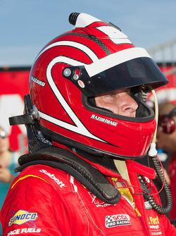 Race winner Anthony Lazzaro
