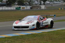 #10 Team Sofrev ASP Ferrari 458 Italia: Eric Debard, Olivier Panis