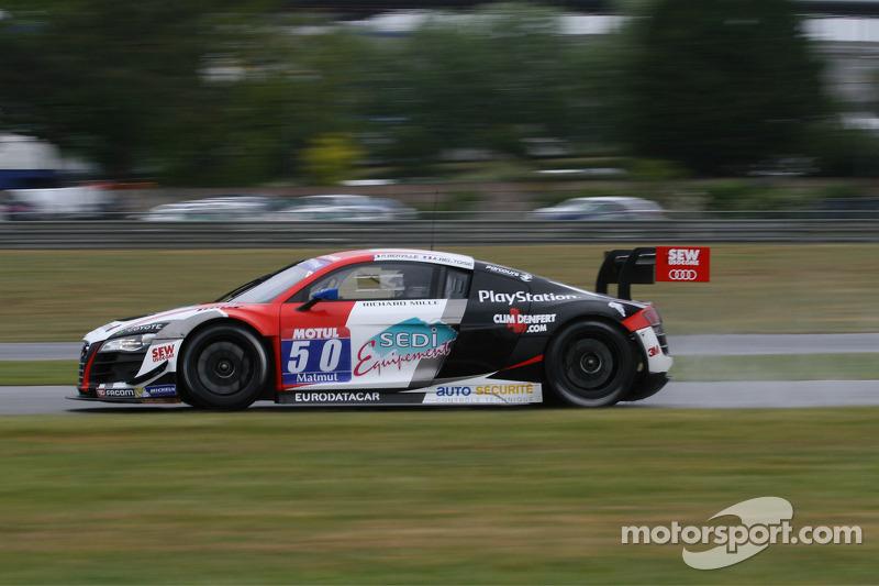 #50 塞巴斯蒂安·勒布 Racing 奥迪 R8 LMS Ultra: Roland Bervillé, Anthony Beltoise