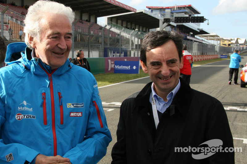 Hugues de Chaunac, ORECA ve Pierre Fillon, ACO'nun başkanı