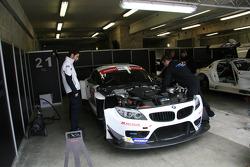 #21 Klasik & Modern Yarış BMW Z4: Pierre Hirschi, Thomas Nicolle