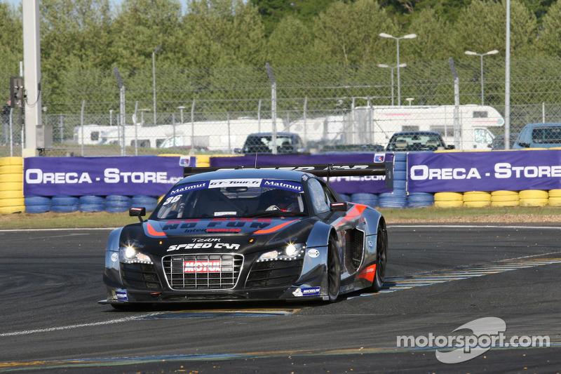 #36 Team Speed Car Audi R8 LMS Ultra: Mathieu Lecuyer, Vincent Abril