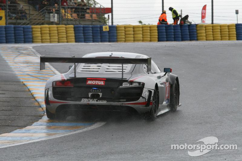 #44 Saintéloc Racing 奥迪 R8 LMS Ultra: Gilles Lallement, Fabrice Rossello