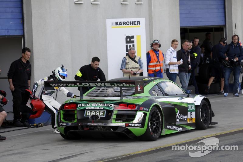 #16 YACO Racing 奥迪 R8 LMS ultra: 菲利普·盖佩尔, 拉哈尔·弗莱