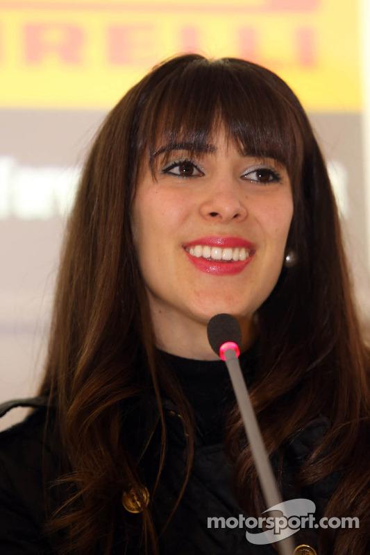 Conferência de imprensa: a evolução da segurança na F1, Paula Senna Lalli, sobrinha de Ayrton Senna da Silva