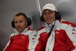 Tom Kristensen and Loic Duval