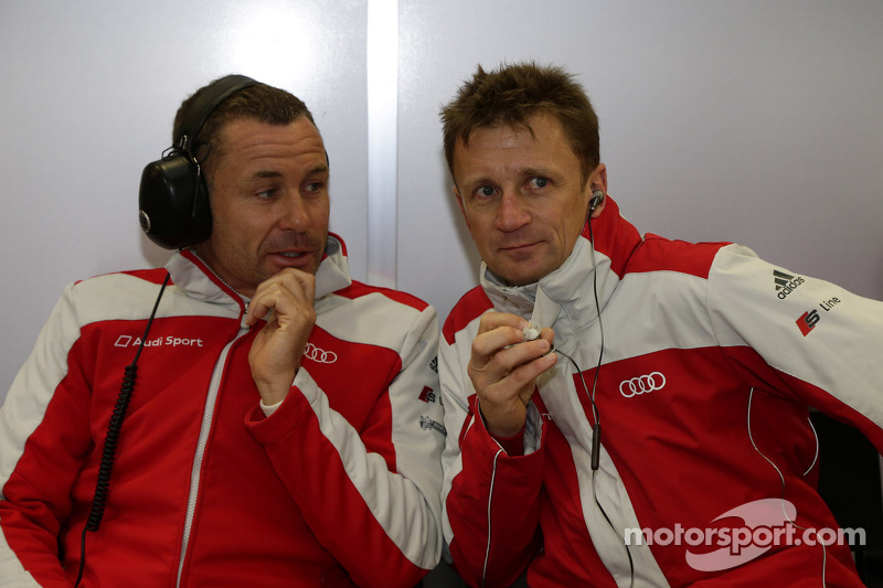 Tom Kristensen e Allan McNish
