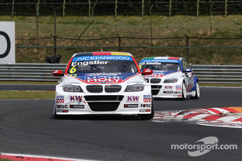 Franz Engstler, BMW 320 TC, Liqui Moly Engstler Takımı ve Pasquale di Sabatino, BMW 320 TC, Liqui Mo