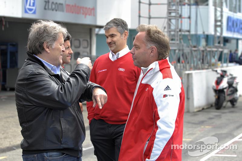 Norbert Haug, el Audi Sport Team Phoenix, Audi RS 5 DTM, Dieter Gass, director deportivo del Audi DTM