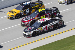 Marcos Ambrose, Jeff Gordon and Kevin Harvick