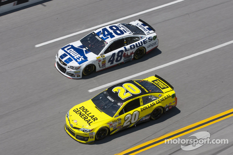 Jimmie Johnson e Matt Kenseth