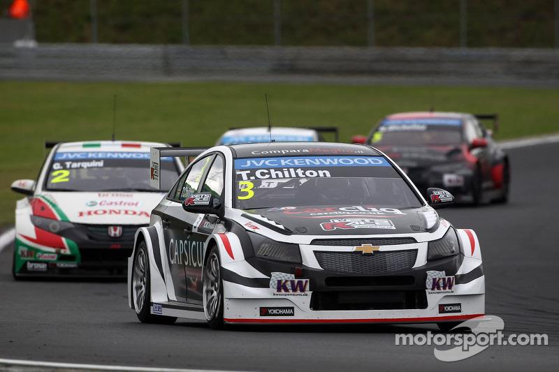 Tom Chilton, Chevrolet Cruze RML TC1, ROAL Motorsport e Gabriele Tarquini, Honda Civic WTCC, Castrol